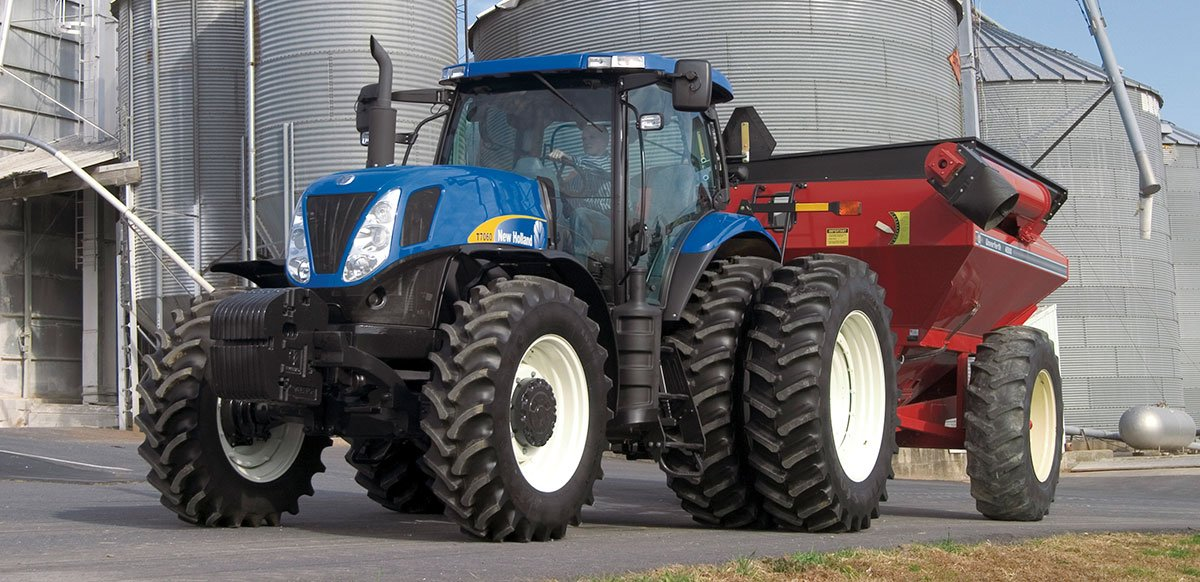 New Holland Tractor Slide